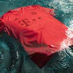 Bayern München spielt mit Ozean-Plastik-Trikot