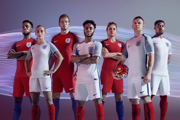 Nike England Trikot