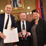 Goldenes Verdienstzeichen des Landes Wien für Werner Kuhn