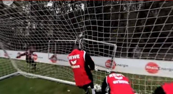 Bild aus einem VR-Video des 1. FC Köln