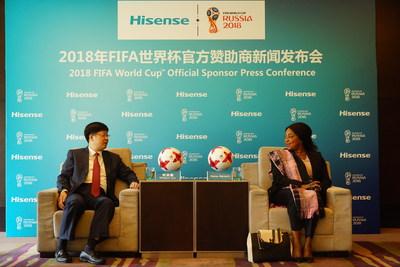 HiSense FIFA WM 2018