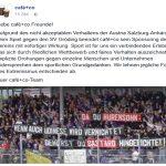 """Nach """"Hinrichtungs-Banner"""" springt Sponsor von Austria Salzburg ab"""
