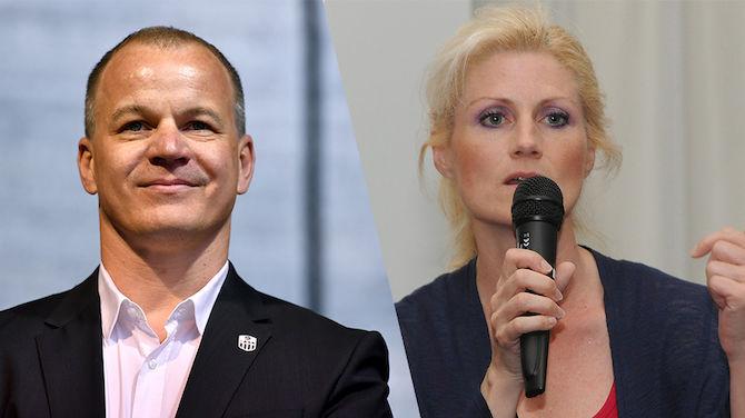 Siegmund Gruber und Katja Putzenlechner (Gepa Pictures)