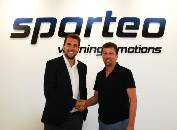 Michael Litschka (ML Marketing) und Hanno Egger (sporteo)