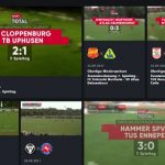 Amateurfußball live: sporttotal.tv zeigt Deutsche Regionalliga West