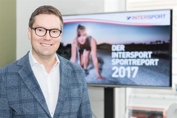 Ralph Hofmann, Head of Marketing INTERSPORT Austria [Foto (c) Helmut Harringer]