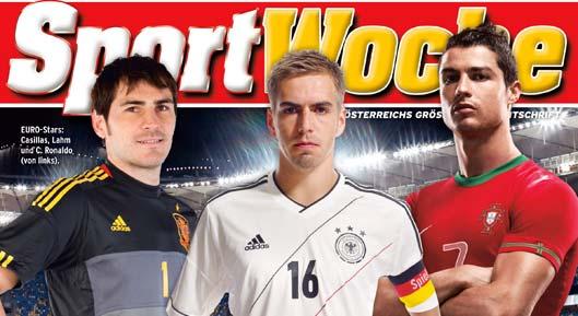 sportwoche cover