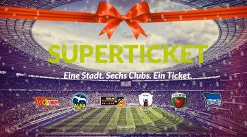 Berliner Superticket: Ein Ticket für sechs Klubs