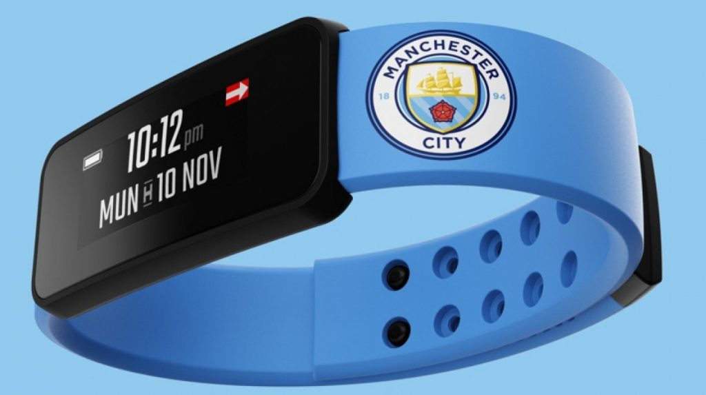 manchester city wearabe marchandising